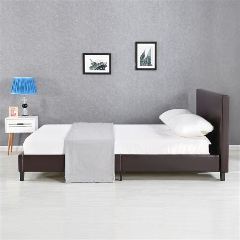 Headboard Slats by King Linen Platform Bed Frames With Wood Slats Headboard K7u5 Ebay
