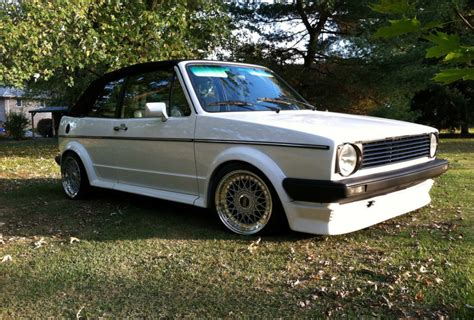 modified  volkswagen cabriolet  sale  bat auctions sold    december