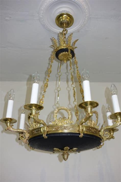 kronleuchter neu verkabeln schinkel leuchter prunkleuchter um 1920 antike len