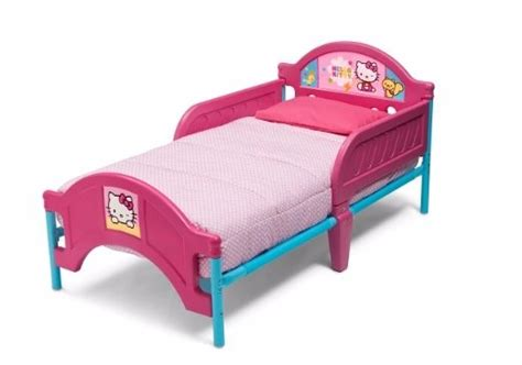 camita cama cuna infantil rosa hello kitty con barandilla - Barandilla Hello Kitty