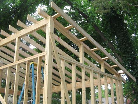 garden shed  slant roof single slope roof shed