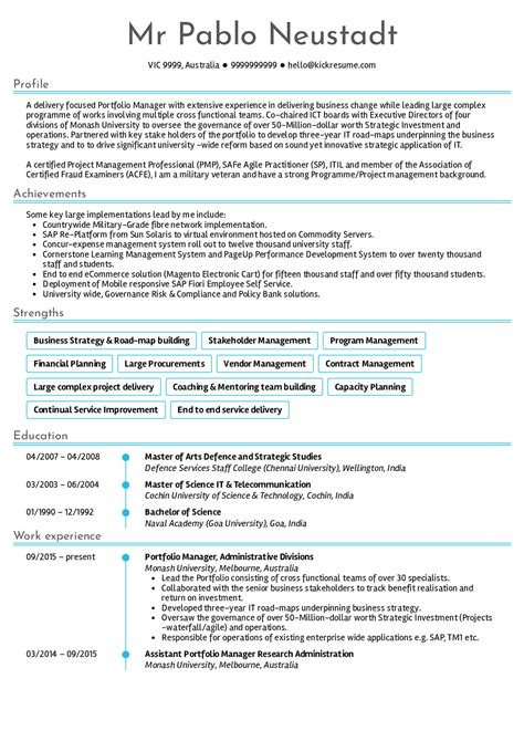 Senior Project Manager Resume by Resume Exles By Real Senior Project Manager
