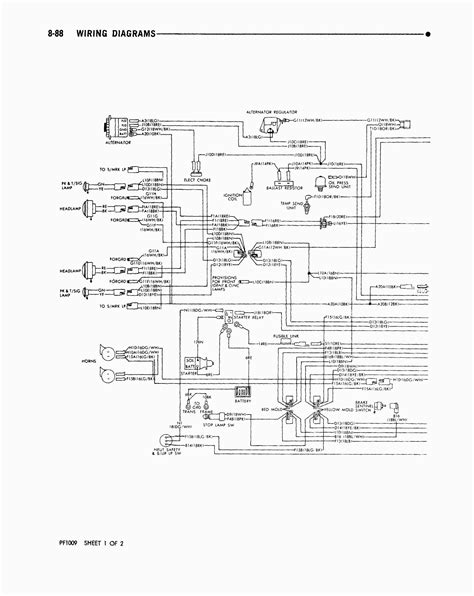 ford  chassis wiring schematic  wiring diagram