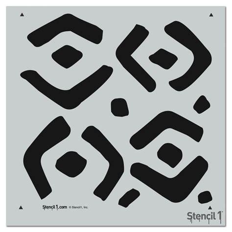repeat pattern font stencil1 0 5 in industrial font stencil s1 alph ind 10
