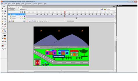 cara membuat presentasi yang menarik dengan macromedia flash cara membuat animasi pemandangan yang indah dengan