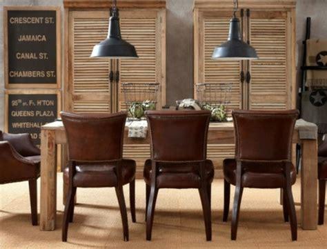 lederstühle esszimmer 25 elegante esszimmer designs in verschiedenen stilen