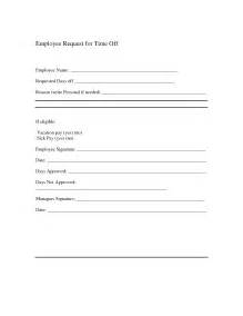 time request form template a sle letter requesting time from work cover