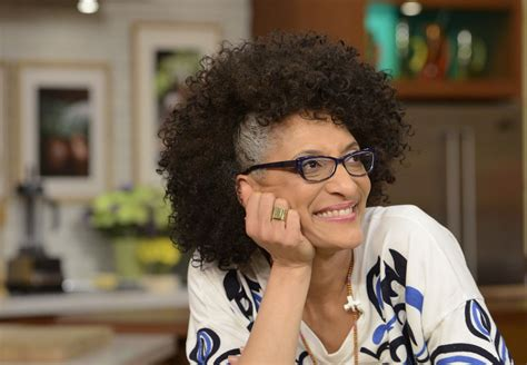 Carla Hall Hair | carla hall says at 50 it is time to embrace her gray hair