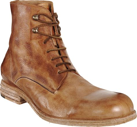 boot for shoto derby boot in brown for lyst