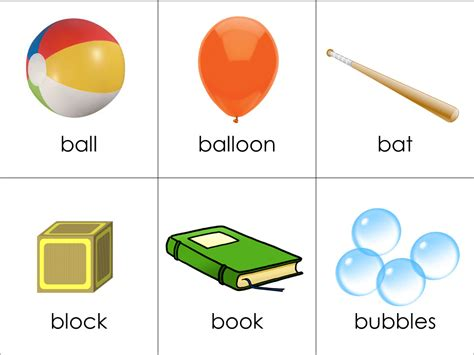 picture cards vocabulary cards toys your child should forever
