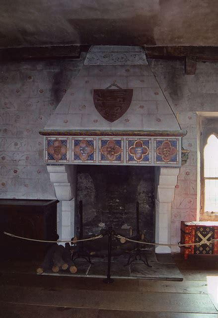 ipernity fireplace   medieval palace