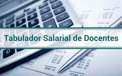 tabulador de la administracin pblica en venezuela 2016 tabulador salarial de docentes del ministerio de educaci 243 n