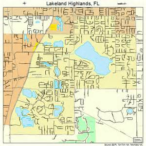 florida map lakeland lakeland highlands florida map 1238262