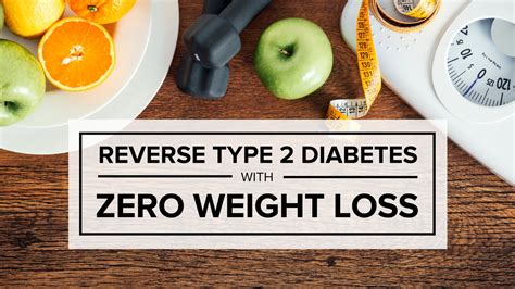 2 weight loss type 2 diabetes with zero weight loss