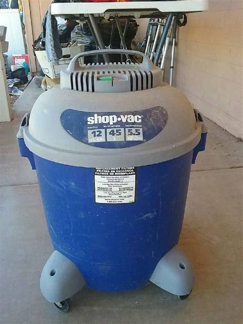 Grey Shop by Used Blue And Grey Shop Vac And In