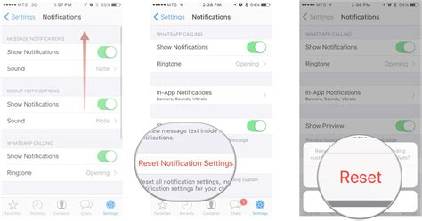 customize whatsapp notifications  iphone imore