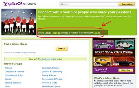 bagaimana cara membuat yahoo groups brand ideas story style my life cara membuat milis