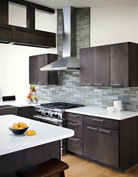 modern kitchen backsplash ideas for 12 ceiling what to do about new vent chimney