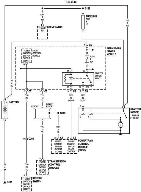 wiring diagram for 1997 plymouth voyager get free image