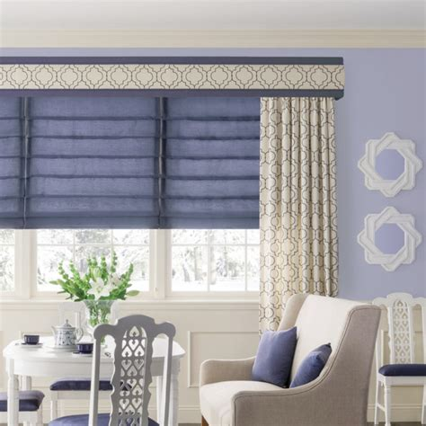 window treatment fabric bali fabric wrapped curved cornice traditional window