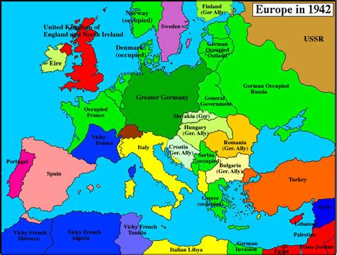 map of europe 1942 1942label maps