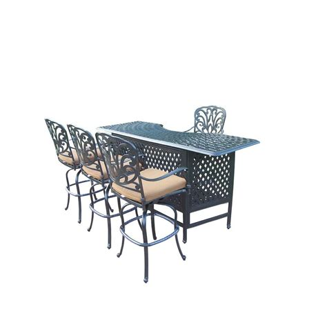 home depot l sets bar height dining sets outdoor bar furniture the home