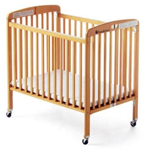 Foundations Baby Cribs Foundations Hideaway Size Folding Crib No 767 75ssn3
