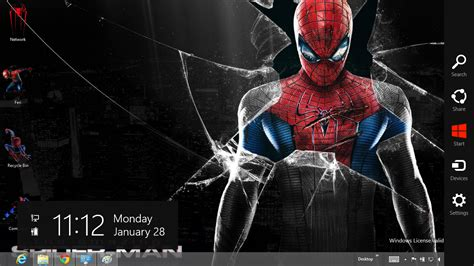 download themes for windows 7 spiderman download gratis tema windows 7 the amazing spider man 4
