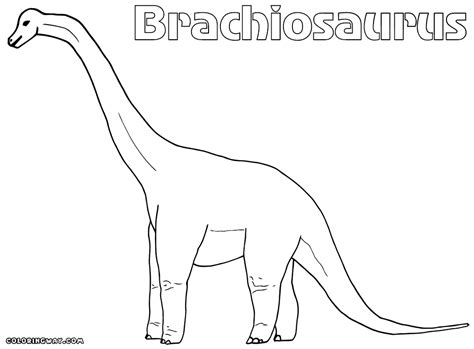 long neck dinosaurs coloring pages coloring pages to