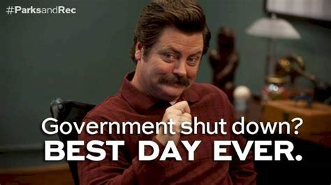 Ron Meme - why working at parks and recreation wouldn t be so bad