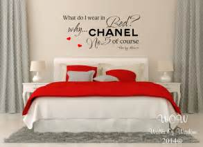 Marilyn Wall Decor by Marilyn Bedroom Quote Wall Sticker
