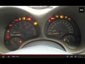 1999 Pontiac Grand Am Dashboard Replacement 1999 Pontiac Grand Am Dash View Start Up And Instrument