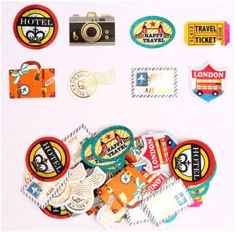 Kofferaufkleber Zum Drucken by Travel London Camera Sticker Sack By Crux With Glitter