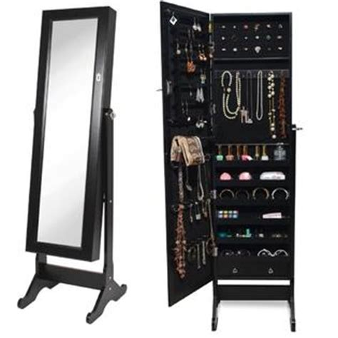 mirror jewelry armoire with lock btexpert cheval mirror jewelry armoire stand lock cabinet