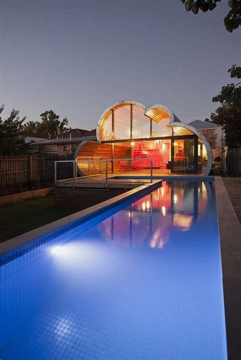 cloud house modern and unique house with cloud like shape cloud house home building