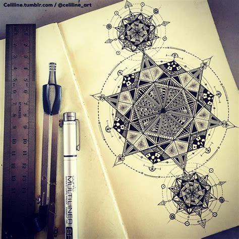 geometric zentangle tattoo 1058 best zentangle tiles zia images on pinterest
