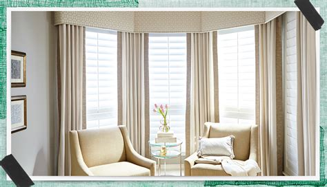 wood blinds with curtains window decor made easy jcpenney