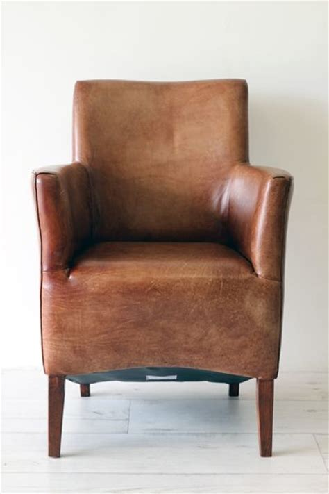 rustic leather armchair little leather armchair