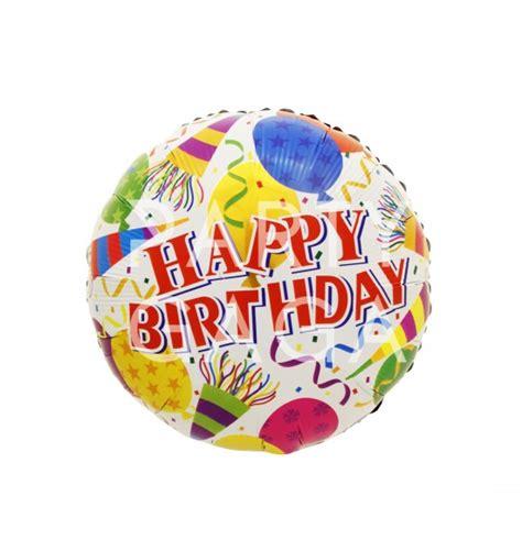 Balon Foil Hbd Cupcake Besar happy birthday horn foil balloon shape