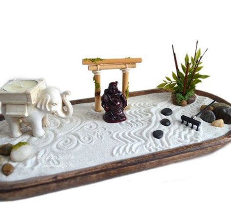 Zen Garten Mini by Zen Garden Miniature Buddha Statue Centerpiece