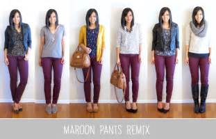 what color goes well with burgundy putting me together favorites of 2013 maroon remix