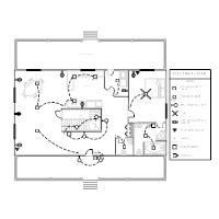 house electrical layout sle electrical plan exles