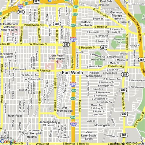 ft worth texas map map of fort worth united states hotels accommodation