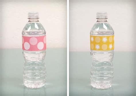 Water Bottle Labels Template Cyberuse Water Bottle Template