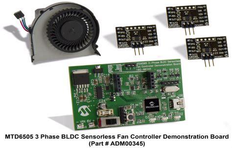 3 phase fan controller mtd6505 3 phase bldc sensorless fan controller