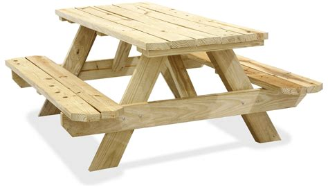 build  wooden picnic table woodprix