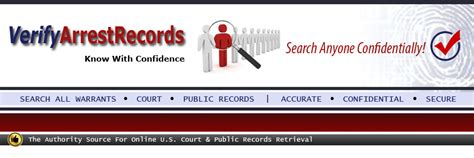 United States Arrest Records Arrest Records Verifyarrestrecords Org