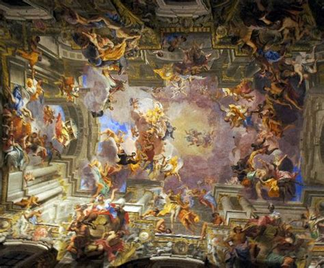 baroque ceiling baroque ceiling in sant ignazio di loyola picture of new
