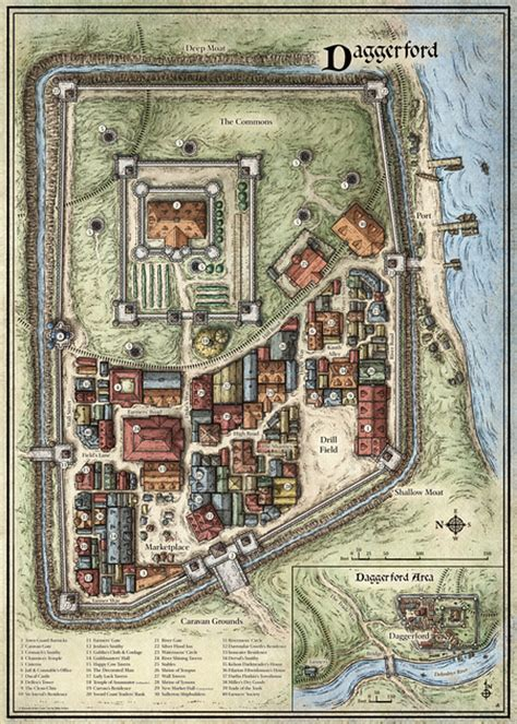 mike schley scourge   sword coast maps daggerford
