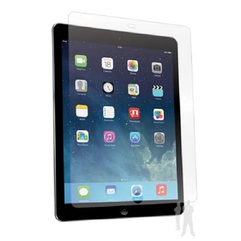 bodyguardz screenguardz screen protector for 9 7 quot ipad pro bodyguardz screenguardz anti glare ipad air tabletsolution